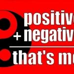 【過去記事への補足】ポジティブな言葉を使う筋反射テスト vs ポジティブとネガティブ要素双方をイメージすること